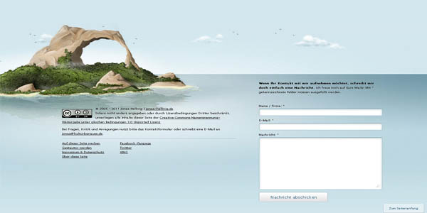 large footer in web design