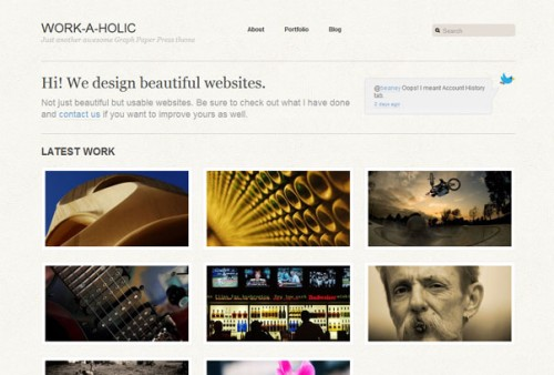 Free WordPress Portfolio Theme