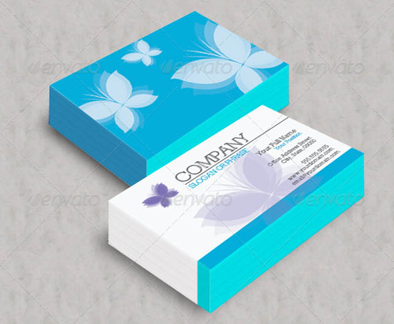 Blue Butterfly Business Cards_52