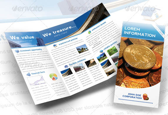 Elegant Corporate A4 Trifold Brochure_12