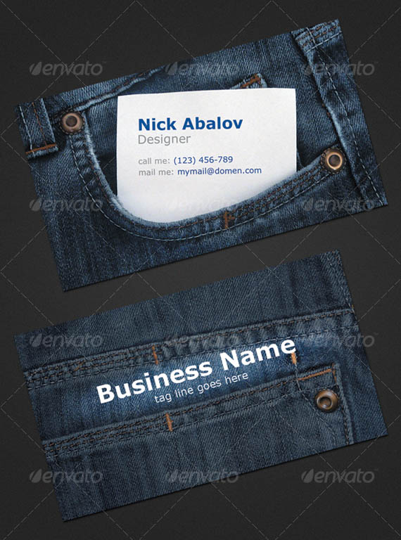 Jeans Business Card_21