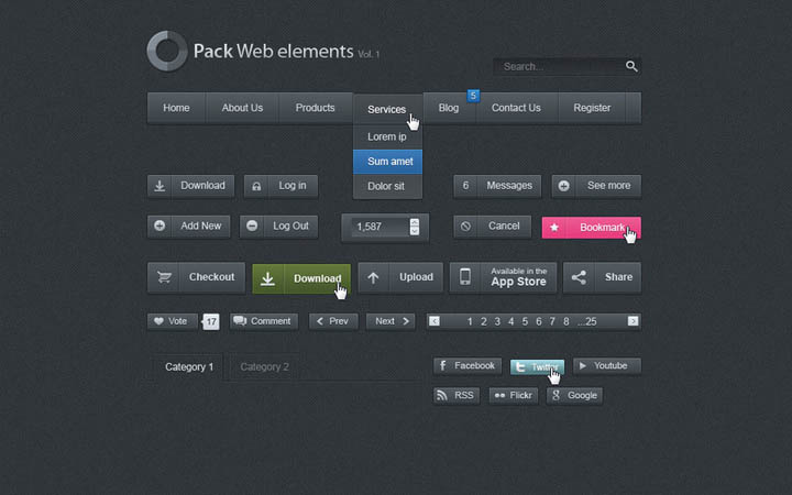 free_dark_web_ui_set_4