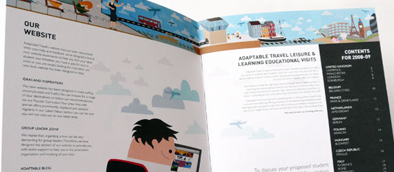 10 Inspiring Travel Brochure Designs