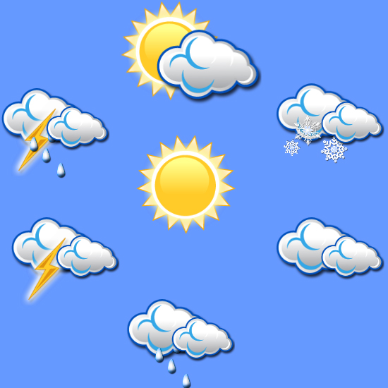 Weather Icons in adobe illustrator