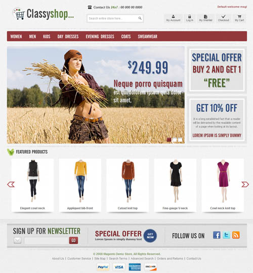 ClassiShop Magento Template_9