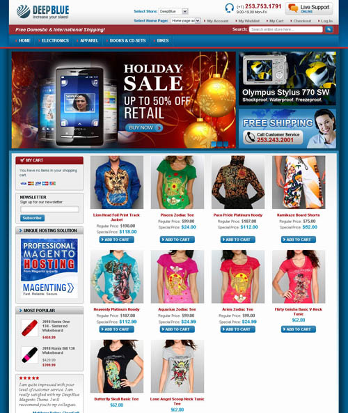 DeepBlue Magento theme_6