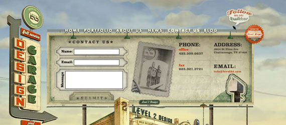 10 Fancy Contact Form Examples