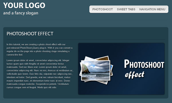 25 Best One Page PSD & (X)HTML Templates | Template | iDesignow