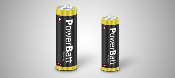 How to Create a Battery Icon in Photoshop