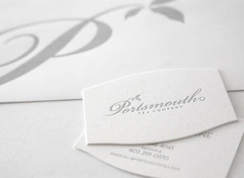 Clean white letterpress business card_11