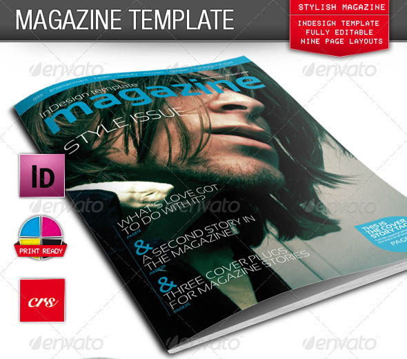 Stylish InDesign Magazine Template_6