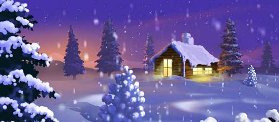 25 Frosty Christmas Wallpapers 2011