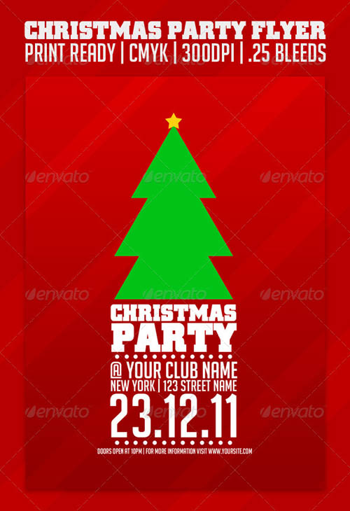 Christmas Party Flyer Template_6