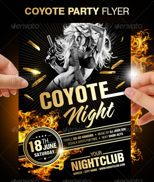 Coyote Night Party Flyer_12