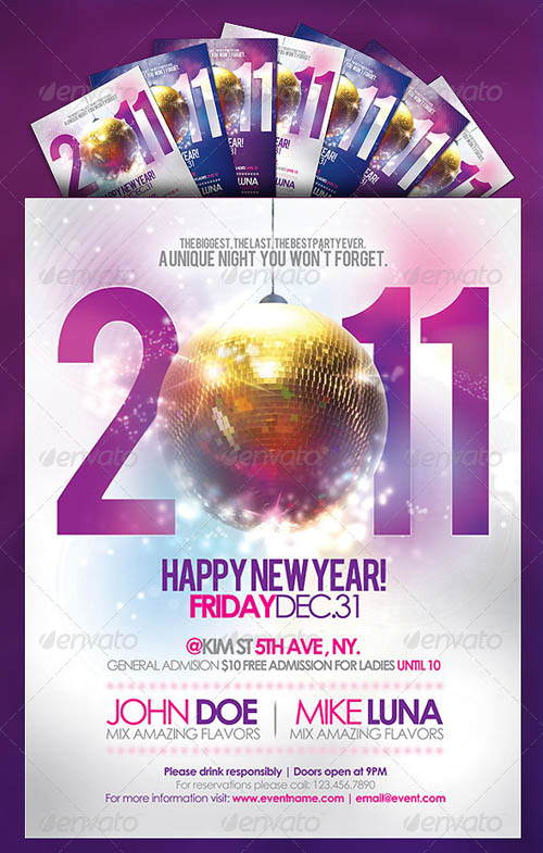 Happy New Year Party Flyer_1