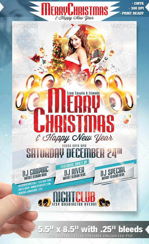 Merry Christmas Party Flyer_2