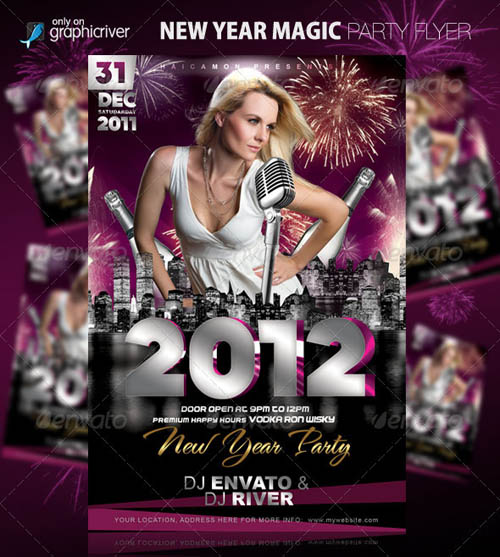 New Year Magic Party Flyer_3