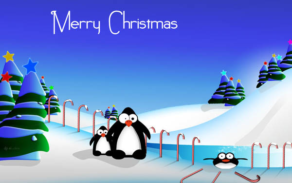 Penguins Christmas Fun WIDE_16