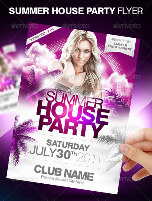 Summer House Party Flyer_8