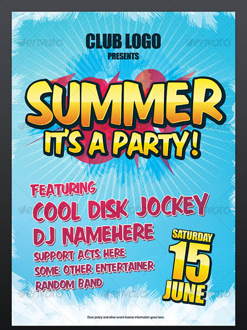 Summer Party  Nightclub Poster_15