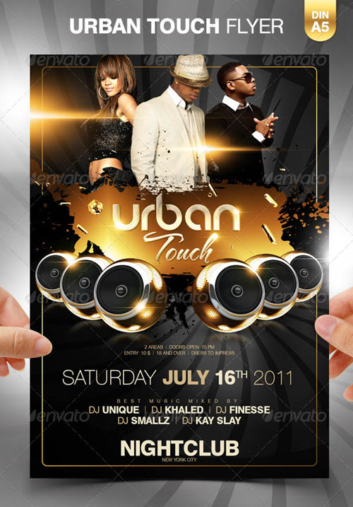 Urban Touch Party Flyer Template_18