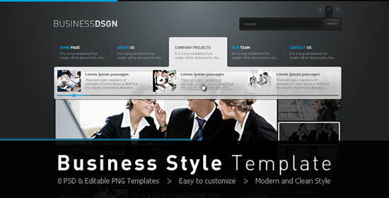 Business Style Template_1