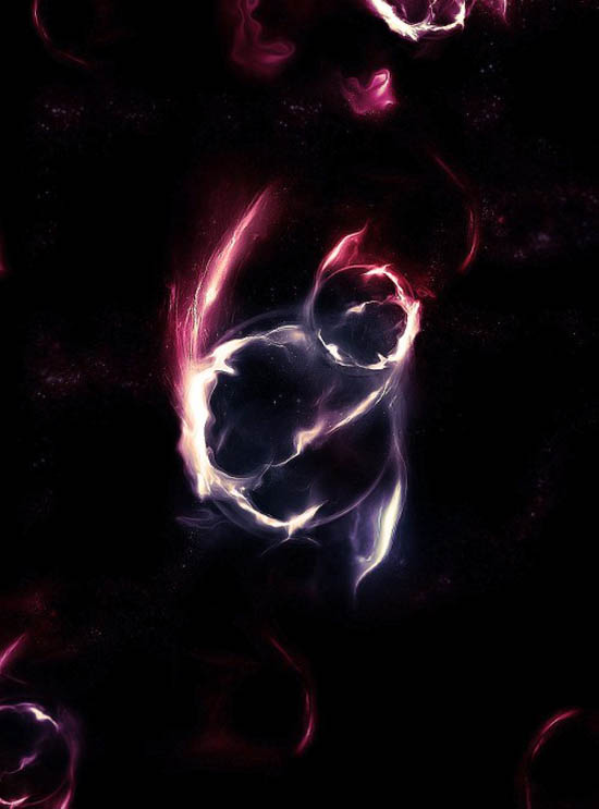Create Awesome Abstract Nebula Circle Shape in Photoshop_3