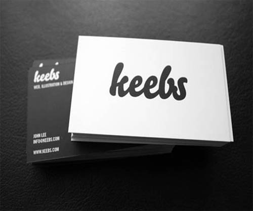 black and white business card_1