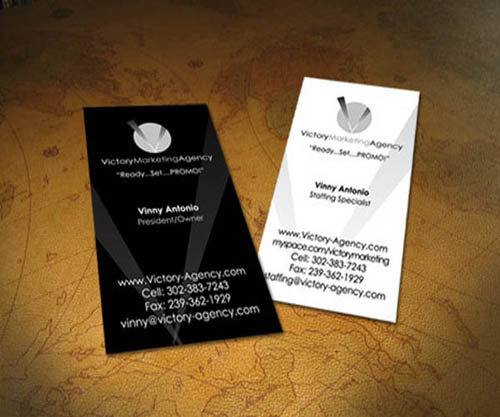 black and white business card_7