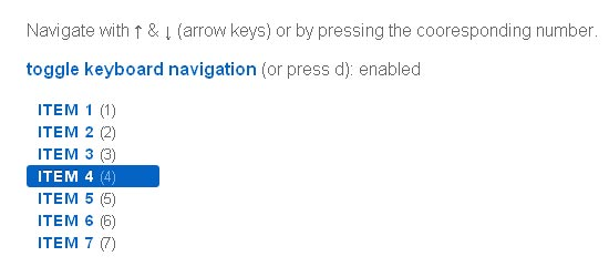 6 jQuery Plugins For Keyboard Navigation | jQuery | iDesignow