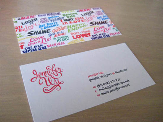 typography business card_22