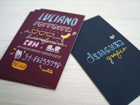 typography business card_23