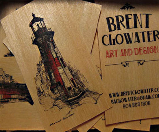 Brent Clowater Wooden Business Card_20