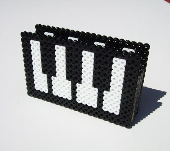 Cool Keyboard Piano Business Card Holder_4