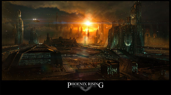 Phoenix Rising by `tigaer