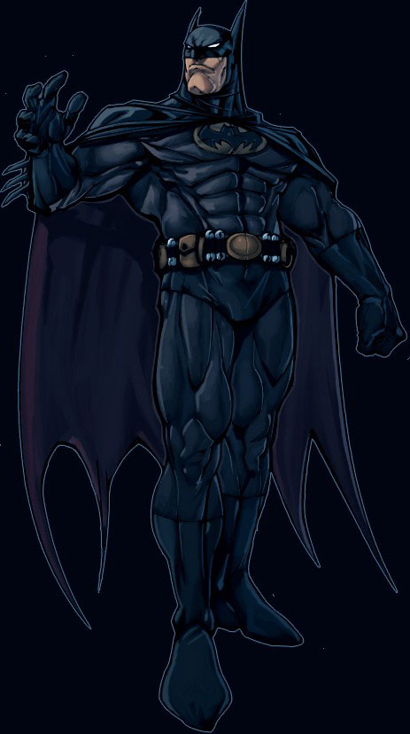 Bat byman By Roger Cruz by Nicolas Chapuis