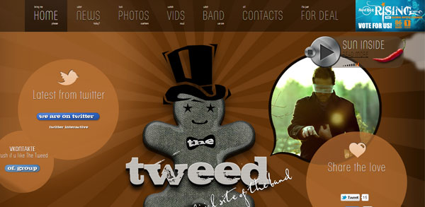 The Tweed band