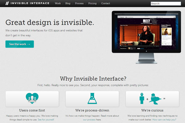 Invisible Interface