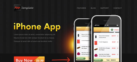 iphone-app-web-template-9