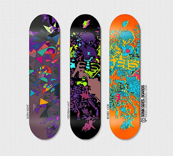 sonik sides . boards