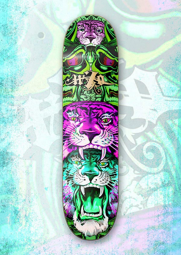 50 outstanding skateboard designs