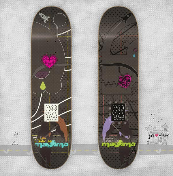 Maglimo/ Girl edition SKATEboards