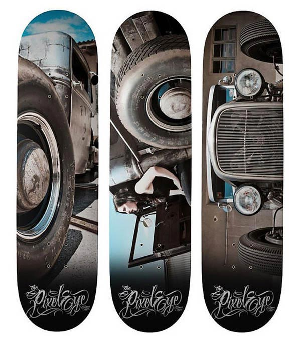 Hot Rod Skatedecks