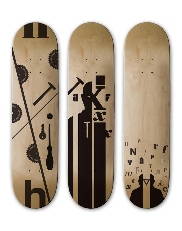 Skateboard Design 2ndS/III