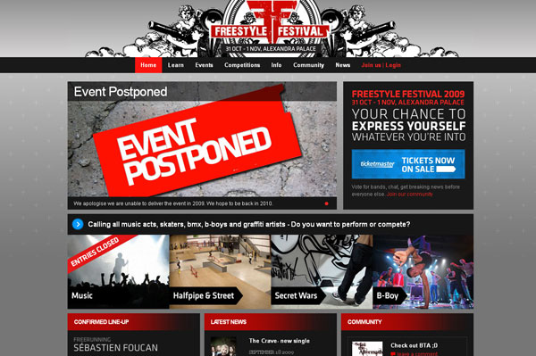 Freestyle Festival | Live Music Competition | BBoys | Halfpipe | Freerunning