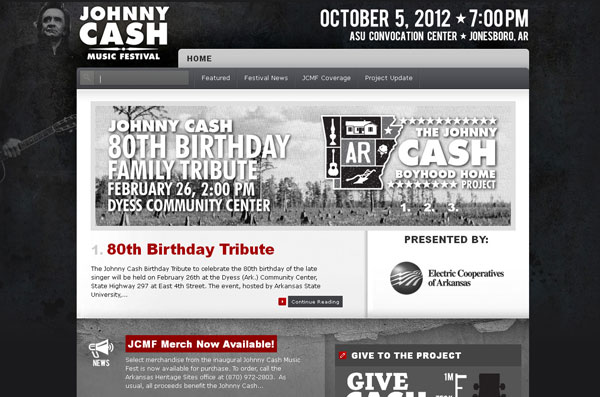 Johnny Cash Music Fest | Supporting the Johnny Cash Boyhood Home Restoration Project