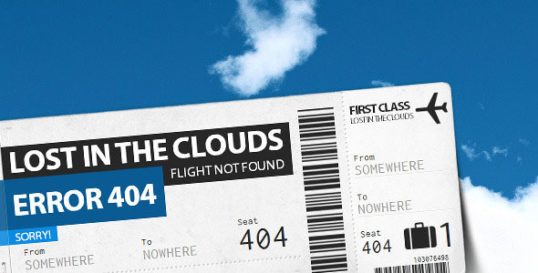 Lost in the Clouds - Error 404