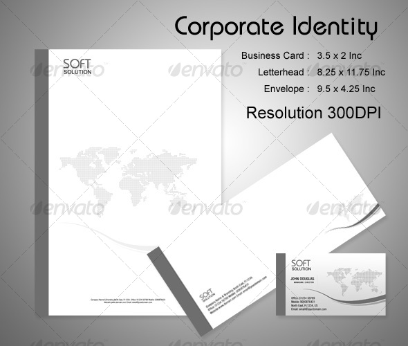 Business Corporate Identity Package