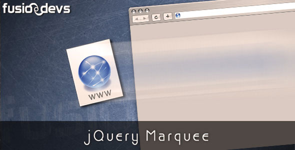 jQuery Marquee Animation Plugin