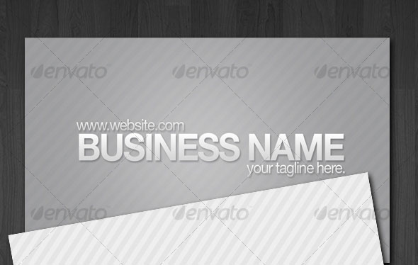 Stripes Business Cards